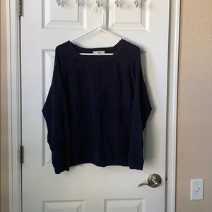 Navy blue Christopher and Banks sweater Xl